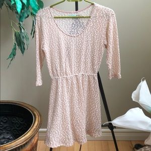 Urban Outfitters pink knit dress